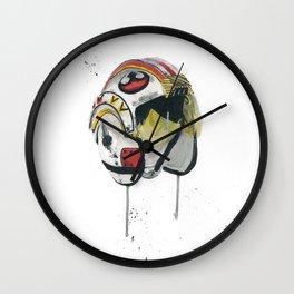 Empty Mask - Rebel Pilot Wall Clock