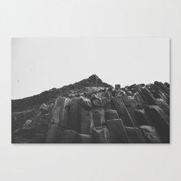 Reynisdrangar Rocks Canvas Print