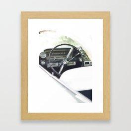 Summer time and Cadillacs Framed Art Print
