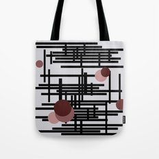 Abstract wall Tote Bag