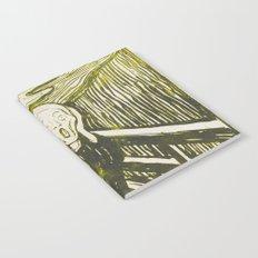 The Scream's Haze (yellow) Notebook
