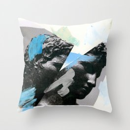 Untitled (Painted Composition 1) Throw Pillow