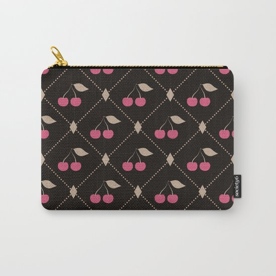 Red cherries . Carry-All Pouch