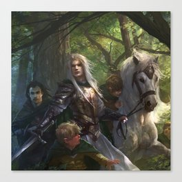 Glorfindel Canvas Print