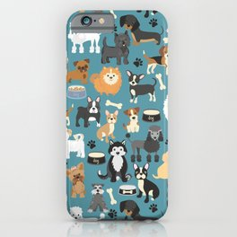 Cute Puppies Little Dogs iPhone Case