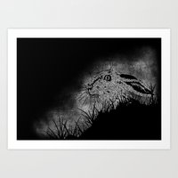 hare Art Prints featuring Hare by hardy mayes