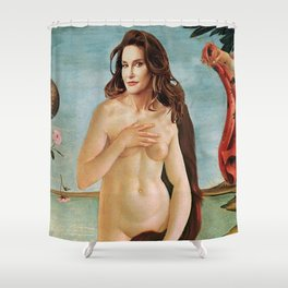THE BIRTH OF CAITLYN Shower Curtain
