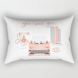 Office Sweet Office Rectangular Pillow