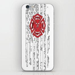 American Firefighter iPhone Skin