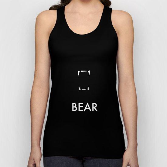 Bear Unisex Tank Top
