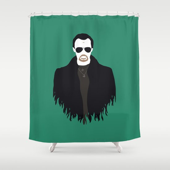 The Bitter End Shower Curtain