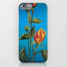 Tahitian Sunset Rose Buds iPhone 6s Slim Case