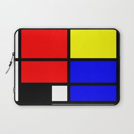 Mondrianista Laptop Sleeve