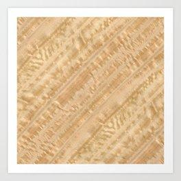 Eucalyptus Wood Art Print