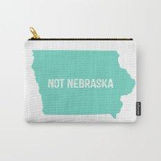 Not Nebraska  Carry-All Pouch