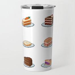 Pixel Cakes Travel Mug