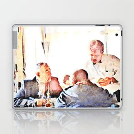 Aleppo: men and room maids Laptop & iPad Skin