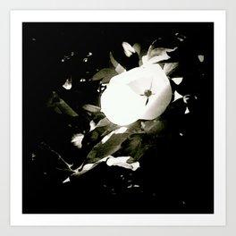 the strange flower Art Print