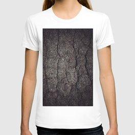Cracked asphalt road T-shirt