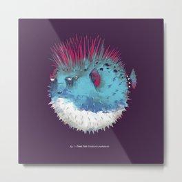Punk Fish Metal Print