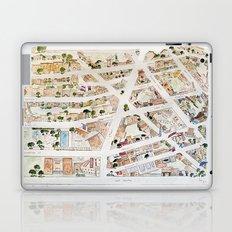 Greenwich Village Map by Harlem Sketches Laptop & iPad Skin