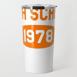 Haddonfield High School 1978 Travel Mug