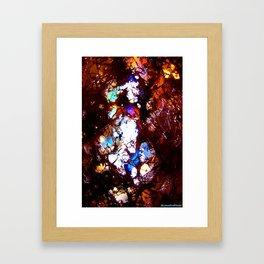 Cracked Illumination part 2 Framed Art Print
