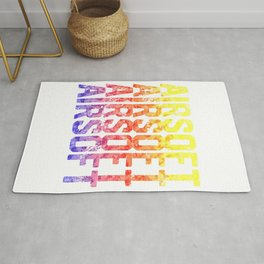 Soldier Colorful Softair Airsoft BBs Gift Rug