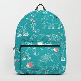 Elephant Flower Girl Backpack
