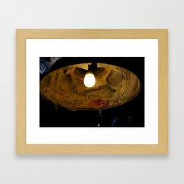 Amst Lamp  Framed Art Print