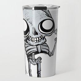 Skully & Desmodus rotundus Travel Mug