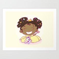 Lil´Princess Giddy-Up! Art Print