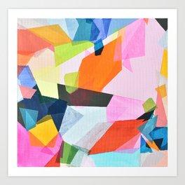 prisms 2 Art Print