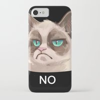 grumpy iPhone & iPod Cases featuring Grumpy by Corelle_Vairel