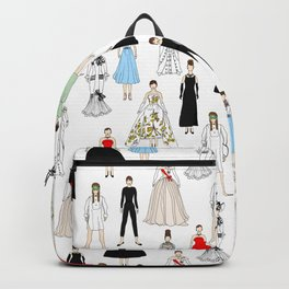 Audrey Fashion Whimsical Layout Backpack
