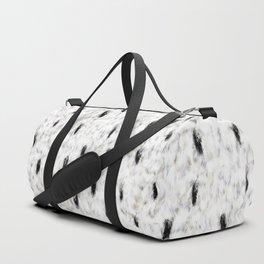 Little Princess — Faux Ermine Pattern Duffle Bag