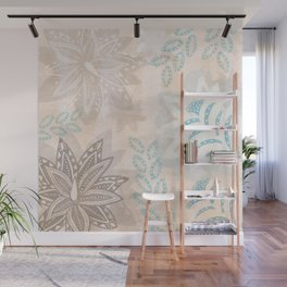 Blue Agave IV Wall Mural