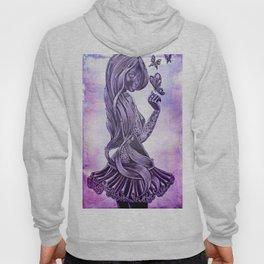 Purple Swirl Hoody
