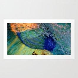 A Mermaid Tail Art Print