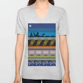 MSTie Sweater Unisex V-Neck