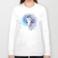 waterfall Long Sleeve T-shirts featuring Waterfall by Sherry Yuan