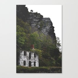 Home Off the Cliff Canvas Print