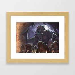 GREAT ANCIENT CTHULHU Framed Art Print