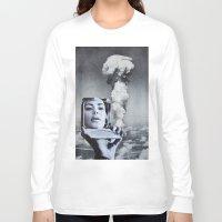 kardashian Long Sleeve T-shirts featuring Kim Kardashian by John Turck