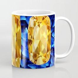 SEPTEMBER CHAMPAGNE TOPAZ GEM BIRTHSTONES Coffee Mug