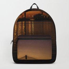 Sunset in Savannah, Georgia Backpack
