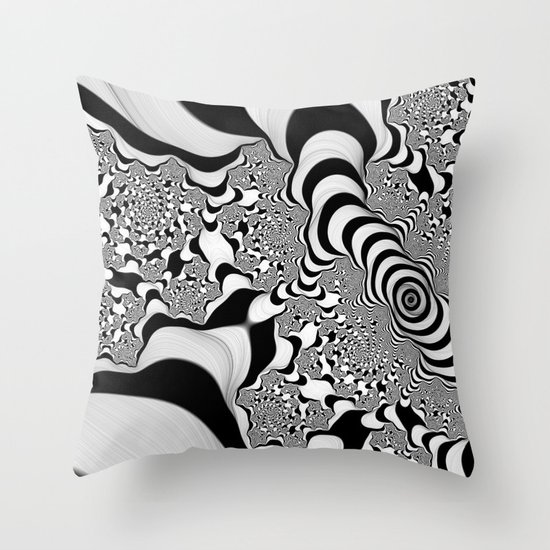 Into Infinity Throw Pillow
