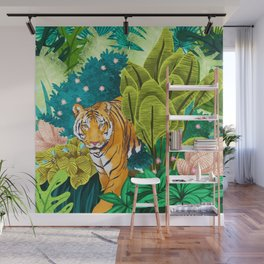 Jungle Tiger Wall Mural