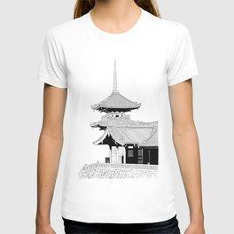 Kyoto - Kyomizudera T-shirt