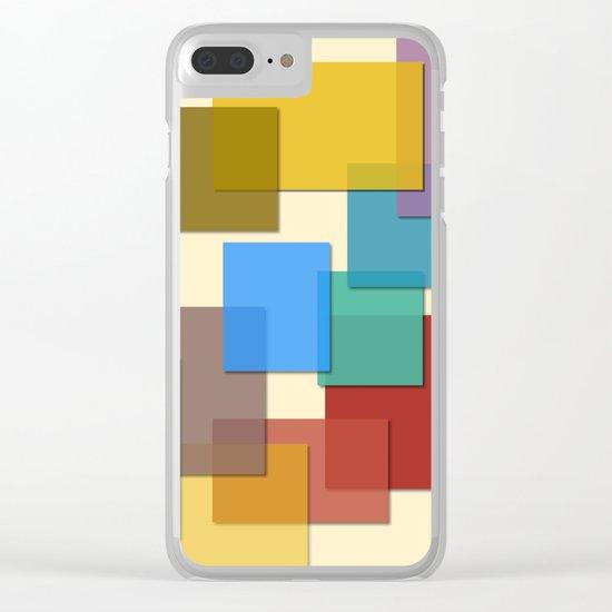 KCS Colors #3 Clear iPhone Case